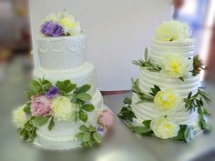 wedding cakes by Lixoudis Bakery Santorini