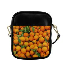 Oranges Fruit Sling Bag (Model 1627)