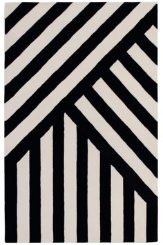 Folding Stripes handtufted rug  90% wool 10% cotton www.serenaconfalonieri.com