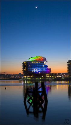 St. David's Hotel, Cardiff Bay, Cardiff, South Wales, Uk