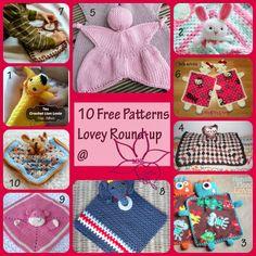 Manda Nicole's Crochet Patterns: Lovey Round-Up - 10 Free Lovey Crochet Patterns