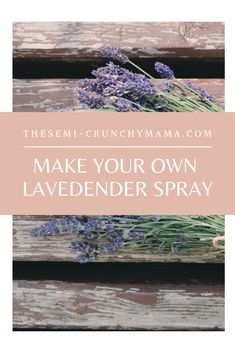 Searching for a beautiful air freshener that's soothing, calming and all-natural? Check out this non-toxic, homemade, lavender spray, with essential oils and easy to make!