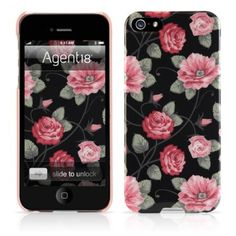 Agent18® SlimShieldVintage Floral Hard Case for iPhone 5S/5 at iPhoneGala Canada
