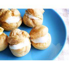 クミタス レシピ 豆乳の米粉シュークリーム (小麦・乳製品不使用)