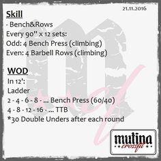 #wod #mutinacrossfit #crossfit #workout #conditioning #metabolic #endurance #weightlifting #gymnastics #barbells #strength #skills #xeniosusa #kingsbox #roguefitness #strengthshop #supportyourlocalbox #like4like #likeforfollow #likeforlike #like4follow