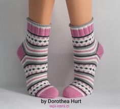 Knitted Mittens Pattern, Knitted Slippers, Knit Mittens, Crochet Slippers, Knitted Hats, Baby Hats Knitting, Knitting For Kids, Knitting Socks, Crochet Ripple