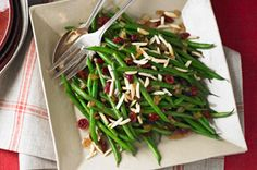 Balsamic-Glazed Green Beans recipe #healthylivingrecipes