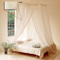 C mo hacer un mosquitero para cama discover more ideas - Mosquiteras para camas ...
