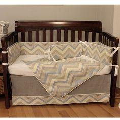 Hoohobbers Chevon Baby Crib Bedding Set