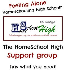 Homeschooling high school can feel very lonely. We are definitely among the minority, which can feel isolating. The key is support, but where do you find it? This support group may be just what you need!
