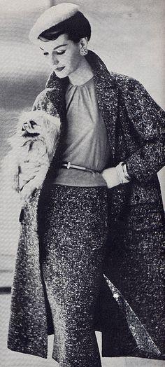Fashionable Pekingese 1955, via Millie Motts.