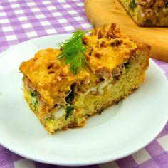 Cea mai delicioasă plăcintă cu ton mâncată vreodată ! - savuros.info Spanakopita, Lasagna, Quiche, Mai, Sandwiches, Cooking Recipes, Salad, Breakfast, Ethnic Recipes