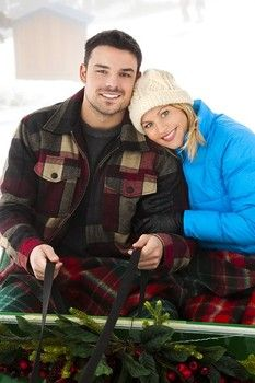 """Review and synopsis of """"Let It Snow"""", a Hallmark Channel original movie starring Candace Cameron Bure and Jesse Hutch"""