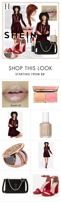 """""""shein10/10"""" by edina-danis ❤ liked on Polyvore featuring Essie and Miss Selfridge"""