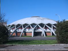 SIGHTS. Palazzetto Dello Sport. One of the few planned developments in Rome's history, EUR was built for an international exhibition in 1942, and although war intervened and the exhibition never took place, the name stuck – Esposizione Universale di Roma (Roman Universal Exhibition