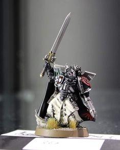 Dark Angels 40k, Fallen Angels, Warhammer Models, Warhammer 30k, Legion Characters, Warhammer 40k Miniatures, Angel Of Death, The Grim, Space Marine