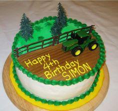 john deere cakes | John Deere Tractor Cake...