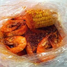 Stop by The Boiling Crab for a load of boiled seafood!