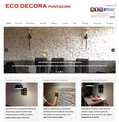 Ecodecora, paneles decorativos para revestimiento de paredes
