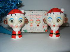 Mid Century Winky Blinky Santa Claus Christmas by RetroPickins