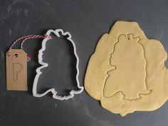 Alice in Wonderland cookie cutter 3D printed by Printmeneer