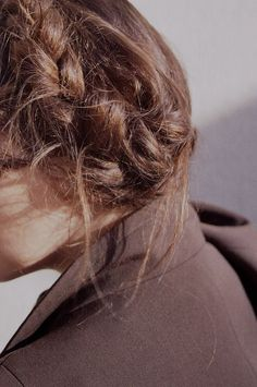girl, braid, and ginger image