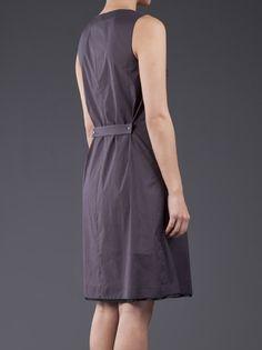 JIL SANDER NAVY - Pintuck dress 4
