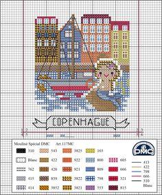 ¡Seguimos de viaje por Europa! Después de visitar Amsterdam  nos vamos a Dinamarca donde visitaremos su capital; Copenhague. Esta bonita ciu...
