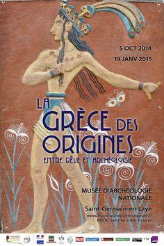 """Exposition """"La Grèce des Origines : entre rêve et archéologie"""", du 5 octobre 2014 au 19 janvier 2015. © MAN"""