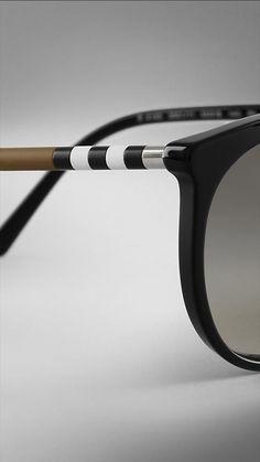 Check Detail Cat-Eye Sunglasses | Burberry