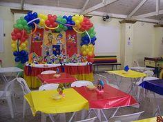 Festa Patati - Decoração Mesas