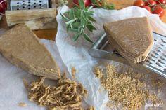 Vegane Alternative für Parmesan am Stück – nussfrei | sojafrei | glutenfrei | milchfrei