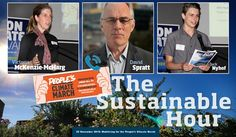 The Sustainable Hour on 94.7 The Pulse on 25 November 2015: With Victoria McKenzie McHart, Australian Conservation Foundation's climate manager, David Spratt, coordinator of The People's Climate March in Melbourne, and Jack Nyhof, 14-year-old high school student, who spoke at the opening of the Act on Climate Festival in Geelong.