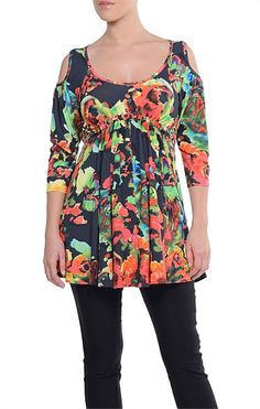 SALE - JETT ADJUSTABLE TUNIC TOP