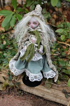 Anne Marie Gibbons Lil' Poes OOAK goth dolls and monsters.: Search results for ghost