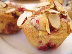 Raspberry Almond Muffins  #LoveandPrimal