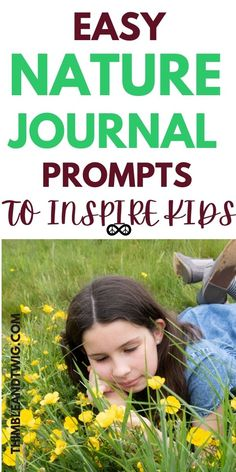 Nature journal prompts for kids to inspire kids to have nature family adventures. fun inspiring ideas for kids to help them start a nature journal. Nature creative writing prompts for kids. Nature journal ideas to inspire kids to get outside. Easy nature activities to play outside. Nature prompts for kids for a nature walk. Journal Prompts For Kids, Writing Prompts For Kids, Writing Skills, Journal Ideas, Nature Activities, Preschool Learning Activities, Writing Activities, Nature Journal, Inspiration For Kids