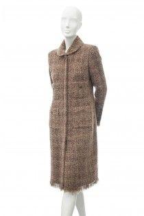 OSCAR DE LA RENTA luxusní vintage kabát 36 Moschino 351220e04b1