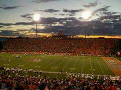 Doyt Stadium at Bowling Green State University #KeeleStudyAbroad