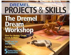 Dremel projects and skills                                                                                                                                                      More