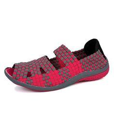 923c9fd8a17fdc SUOJIALUN Mujeres Zapatillas Planas Mujeres Zapatos Slip On Mulas Planas  Ruffles de Moda Zapatos de Las Señoras Plataforma de Tela …