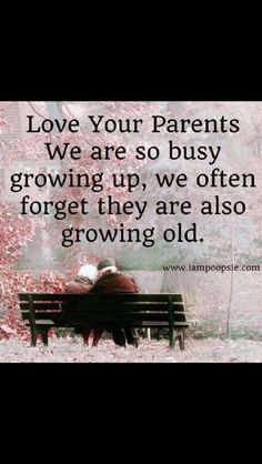 Love your parents. Keep in touch with them no matter what. Grandparents too. Words Of Wisdom Quotes, Mom Quotes, Quotes To Live By, Random Quotes, Quotable Quotes, Love Your Parents, Truth Of Life, Life Thoughts, Love Yourself Quotes