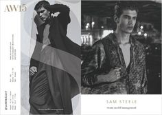 SAM STEELE- Storm Models London Fall Winter 2015.16 Show Package