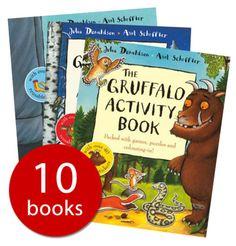 The Gruffalo Activity Collection - 10 books - Paperback - 9781447240570 - Julia Donaldson & Axel Scheffl