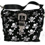 Cute skull purse! <3
