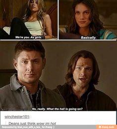 Sam and Dean as girls
