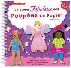 Le livre fabuleux des poupées en papier - 6 poupées prédécoupées, 6 décors, 1 placard, vêtements et accessoires. -   Age : 4 ans et plus -   Référence : 00053900 #Jeux #Jouet #Famille #Enfant #Chalet #Vacances #Cadeau
