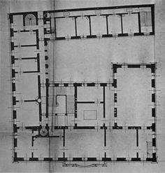 Variációktéglára Palaces, Floor Plans, Houses, Flooring, How To Plan, Architecture, Homes, Arquitetura, Palace