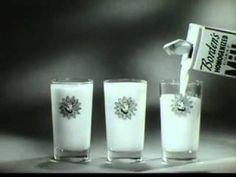 1950's commercials Borden's Milk,