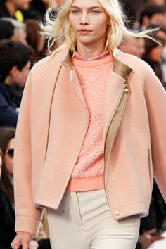 beautiful color, layers. chloé, fall '12